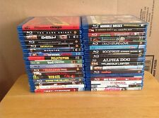 Thirty Four (34) Blu Ray Movies - Best Movies - w/ Cases