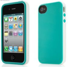 IPhone 4 4S edizione limitata Belkin CANDY CASE BLU CUSTODIA MORBIDA COVER TPU