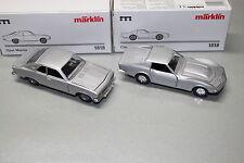 Märklin 1818 Chevrolet Corvett und Opel Manta A silbern 1:43 OVP