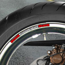 Buell Streetfighter Wheel rim Stickers Lightning B
