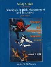 Study Guide to Accompany Rejda's Principles of Management and Insurance
