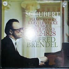 SCHUBERT Piano Works Klavierwerke 1822-28  Brendel  8 LP Philips 6747175 NM-M