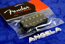 Fender Strat Pickup, Black Wide Spacing Standard Bridge Humbucker 0050955000 NEW
