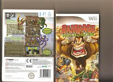RAMPAGE TOTAL DESTRUCTION NINTENDO WII RETRO REMAKE
