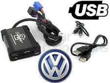 VW Polo Adattatore USB interfaccia 98 2004 CTAVGUSB003 SD e Ingresso AUX MP3