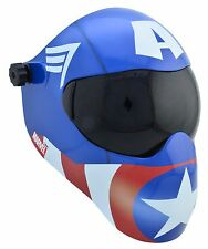 New Save Phace EFP-B Series Welding Helmet #10 & Clear  - Marvel Captain America