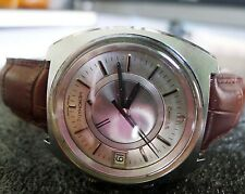 AUTH. OMEGA MEMOMATIC, DATE, ST.STEEL, AUTOMATIC...