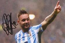 COVENTRY: ADAM ARMSTRONG SIGNED 6x4 ACTION PHOTO+COA