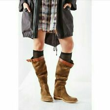 New Urban Outfitters Ecote Suede Slouch Tall Boots Size 8 MSRP: $130