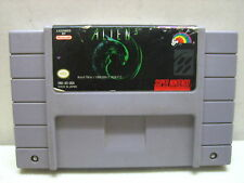 SUPER NINTENDO SNES ALIEN 3 GAME CARTRIDGE ONLY CLEANED TESTED