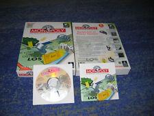 MONOPOLY Das berühmte Brettspiel PC DEUTSCH Erstausgabe BIG BOX Deutsch