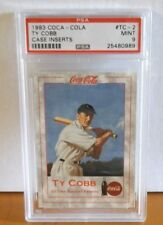 1993 Coca-Cola #TC-2 - TY COBB - CASE INSERTS - PSA 9 Mint