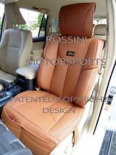 TO FIT A NISSAN NAVARA CAR, SEAT COVERS, YMDX 07 ROSSINI SPORTS TAN