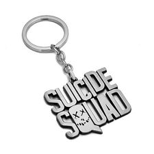 Movie Suicide Squad Harley Quinn Letter Metal Keychain Key Ring Pendant Gift NEW