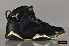 Nike Air Jordan 7 VII Retro Black Gold GMP Golden Moments Size 10. 535357-935