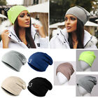 Women Men Unisex Slouch Winter Knit Hip-hop Cap Beanie Baggy Hat Ski Crochet