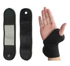 Magnetic Therapy Spontaneous Heat Wristband With 2 Magnets for Strain/Pain