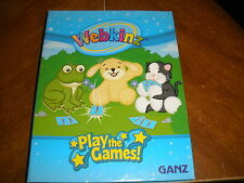 Webkinz Play the Games Ganz Trading Card Album FULL of cards regular & challenge