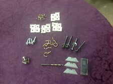 Lot: Hardware Supplies. Replacement Razors, Hex Nuts, Hinges, Screws, Hooks