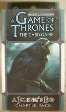 A Game of Thrones The Card Game A Journey's End Chapter Pack NEW Sealed