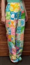 "Vintage ""The Lilly"" 1970's Sewn Patch Pants ~ 14 ~ Lilly Pulitzer ~ Perfect!"