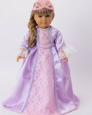 Lavender Rapunzel Dress & Accessories for  18'' dolls by American Fashion World