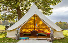 100% 5m FIREPROOF 360 gsm  Bell Tent with Zig by Bell Tent Boutique. BS Rated.