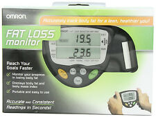 NEW Omron HBF-306C Fat Loss Analyzer Monitor HBF-306CN Body Logic Black FAST!