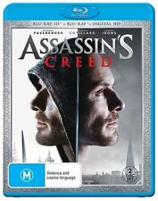 Assassins Creed (3D/Digital HD) NEW B Region Blu Ray