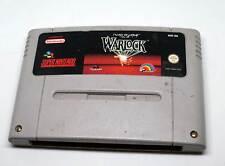 Super Nintendo Spiel Game Modul SNES - Beware The Ultimate Evil Of Warlock