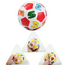 2pcs Babies Kids Soft Cotton Rubber Rattle Outdoor Soccer Ball Game Playing Toy