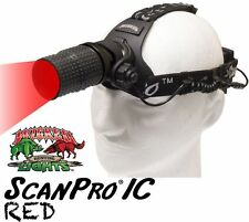 Wicked Lights ScanPro IC RED LED Night Hunting Headlamp for Coyotes Hogs Foxes