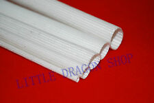 5x1M Glass Fiber High Temperature Electrical Insulation Tube Sleeving 600°C A385