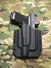 Black Kydex Light Bearing Holster Glock 19/23/32 Surefire X400 Ultra Laser/Light