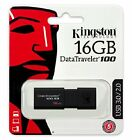 KINGSTON DT100 G3 16GB USB 3.0 Pen Drive Chiavetta 16GB