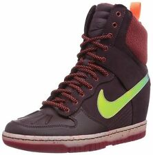 New Womens Nike DUNK SKY HI SNEAKERBOOT 2.0 Shoes -684954 600 high -Sz 8 -New