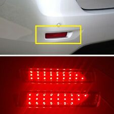 Red lens LED Rear Bumper Reflector Light Lamp For NISSAN SENTRA 2013 2014 2015