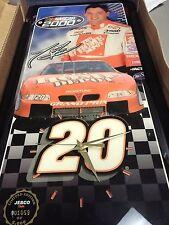 Tony Stewart Home Depot Jebco Clock Limited Edition Joe Gibbs Racing
