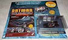 BATMOBILE CLASSIC auto collection 2  BATMAN COMICS 1/43 FABRI NO CORGI HOTWELLES