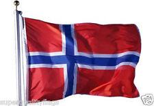 NORWAY BIG NORWEGIAN FLAG 2x3ft new