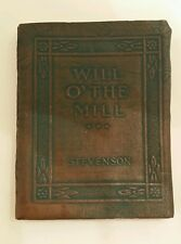Little Leather Library Miniature Book ROBERT LOUIS STEVENSON Will of the Mill