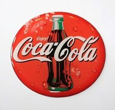 Coca cola sticker/autocollant recouvert d'un brillant finition de gel - 60mm