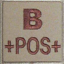 ECUSSON B+ SABLE GROUPE SANGUIN B POS POSITIF INSIGNE