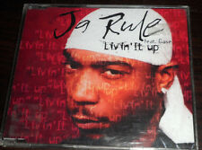 CD. Ja Rule / Livin' it up / feat. Gase / 4 Tracks CD / Made in AU