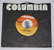 Rock 45~PINK FLOYD~Another Brick In The Wall/ One Of My Turns~Columbia CLEAN 7""