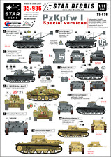 Star Decals, 35-936, Decal for PzKpfw I - Special versions.