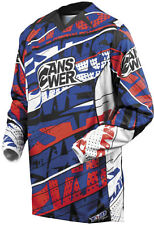 M Medium Answer Alpha F10 MX Jersey Yamaha Blue Red $49.95 Clearance
