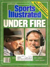 Sports Illustrated November 14 1988 Under Fire Tom Landry and Chuck Noll
