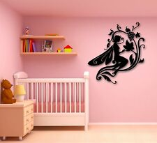 Wall Stickers Vinyl Decal Fairytale Fairy for Kids Children's Room (ig716)