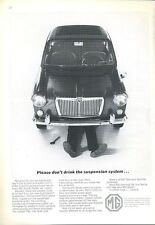 1966 MG Sports Sedan British Motor Corporation  PRINT AD